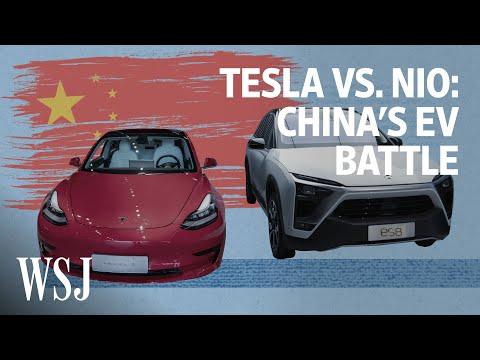 Tesla vs. NIO: Battle for the World's Largest EV Market | WSJ