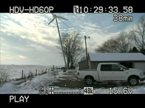 Repeat i3Power 3KW NTPWind Power Wind Turbine, 65' Monopole