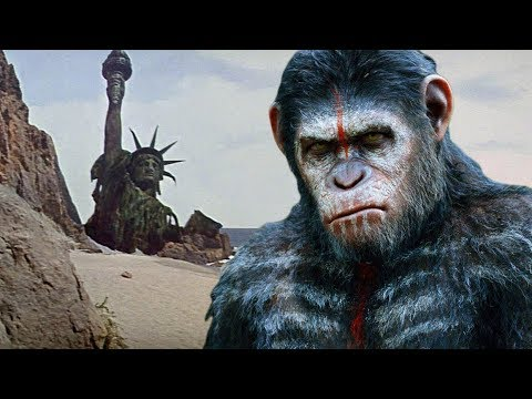 PLANET OF THE APES (1968) Movie Clip - Statue of Liberty Ending |FULL HD| Charlton Heston