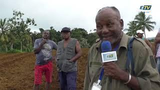 Le syndicat agricole des petits planteurs de cadet Sainte-Rose se mobilise
