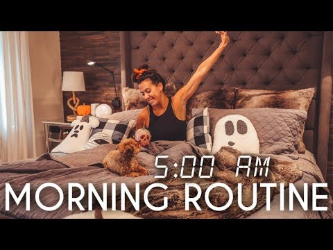 5 AM Morning Routine | Waking up Early