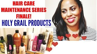 HAIR: HOLY GRAIL PRODUCTS for Relaxed, Biracial, Multiracial, Ethnic Fine Texture