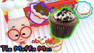 Muffin Man | Do you know the muffin man |  Drury Lane song | kids songs by Abcde in Balloon World