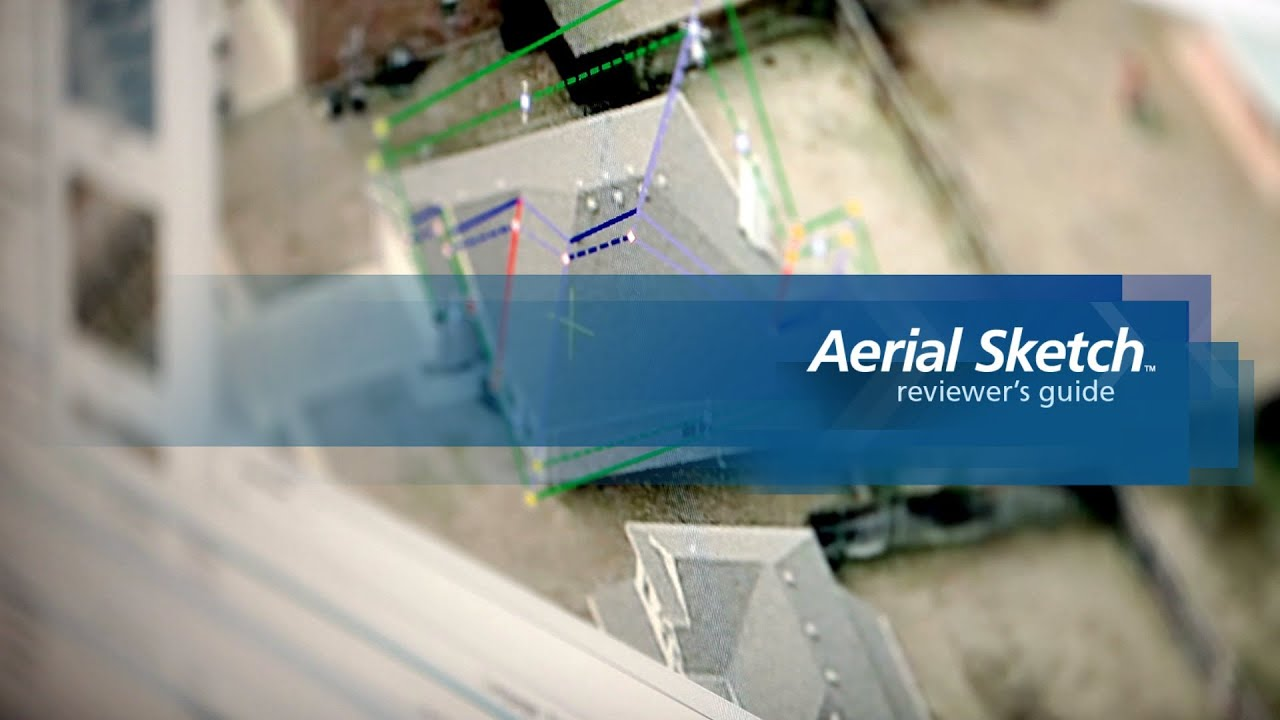 Xactware Product Review Dimensioning Roofs With Aerial Sketch Youtube