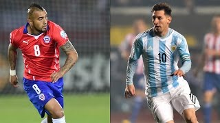 Copa America 2015 FINAL - Argentina vs Chile Highlights and Penalty Shootout