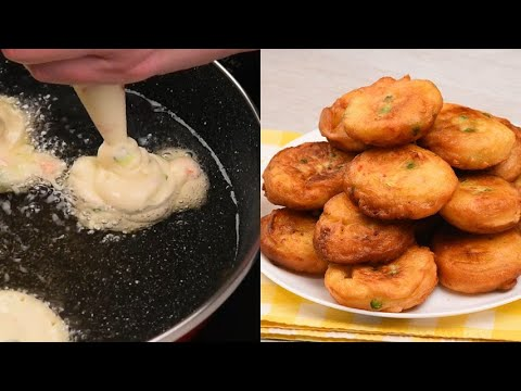 Sac a poche fritters tasty and really easy to make