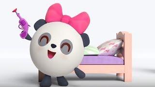 Малышарики -  Кубик - серия 154 - Обучающие мультфильмы для малышей - сон в своей кроватке