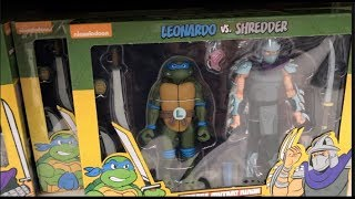 Episode 299 - TOY HUNTING the NECA TMNT TARGET EXCLUSIVE 2 PACKS! REVIEW and SHOWCASE!
