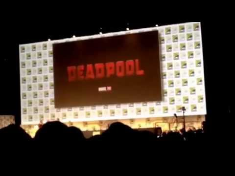 Deadpool Cast Takes Stage SDCC Hall H San Diego Comic-Con