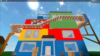 hello san beta | Hello Neighbor Roblox Map