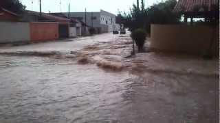 Enchente em Alambari