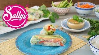 Sommerrollen / Salat to Go / gesunder Sommersnack
