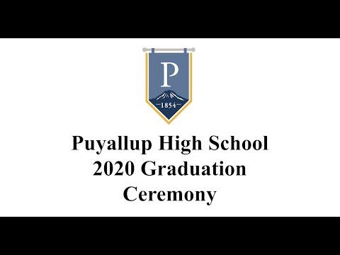 Puyallup High School 2020 Graduation Ceremony