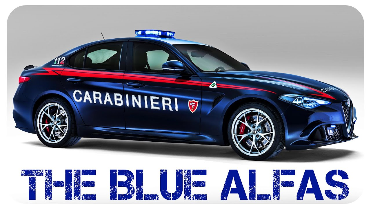 The World's Sexiest Cop Cars