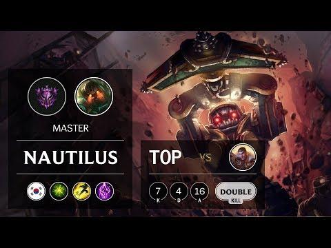Nautilus Top vs Jayce - KR Master Patch 9.21
