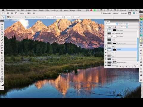 Webinar: Powerful Landscape Photography Enhancements with Adobe® Photoshop®