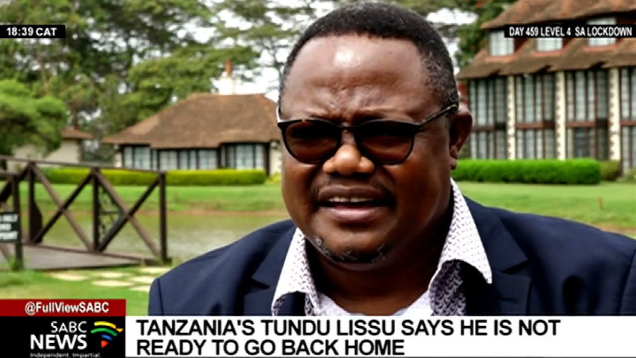 Download Tanzania's Tundu Lissu on his new book Remaining in the Shadows