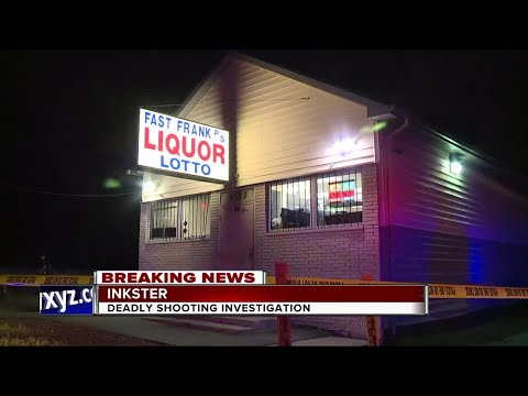 Deadly shooting investigation at Inkster liquor store