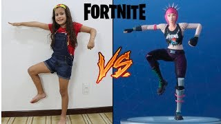 THE CHALLENGE OF THE FORTNITE DANCE IN REAL LIFE! (FORTNITE DANCE CHALLENGE IN REAL LIVE!)