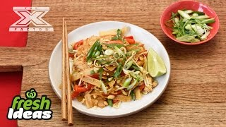 Pad Thai Recipe with Chicken - with Luke Jacobz from The X Factor  Woolworths
