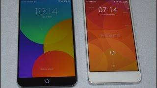 MEIZU MX4 VS Xiaomi MI4 Smart Phone