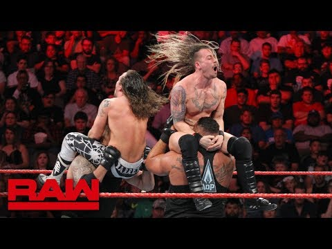 AOP vs. Gregory James & Barrett Brown: Raw, Sept. 17, 2018