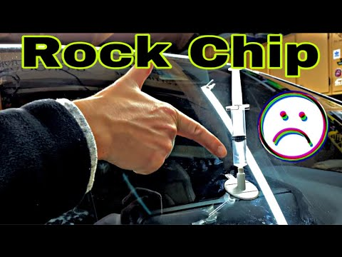 Lexus RX450H Windshield Chip Repair DIY
