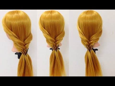 Top 5 Hairstyles For Long Hair 💗 Hairstyles Tutorials Compilation 2017  - Giang My Thailand