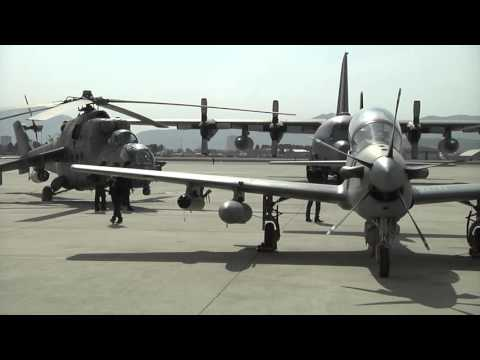 A Show of Strength by the Afghan National Airforce