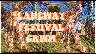 LANEWAY FESTIVAL GRWM Q&A|| Self love + happiness