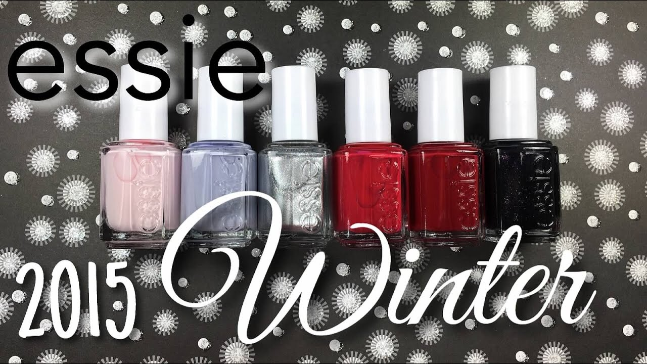 essie Winter 2015 Collection Live Swatching | Nail Polish Pursuit ...