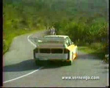 Audi quattro S1 test Rohrl 1985