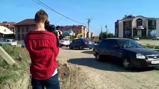 На улице Восточно-Кругликовской в Краснодаре продолжаются работы