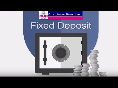 City Union Bank Fixed Deposit