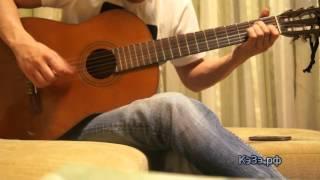 Человек и кошка - Ноль (cover на гитаре)