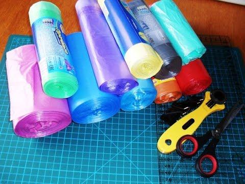 Всё о полиэтиленовых пакетах.  Как нарезать пакеты. Часть 2