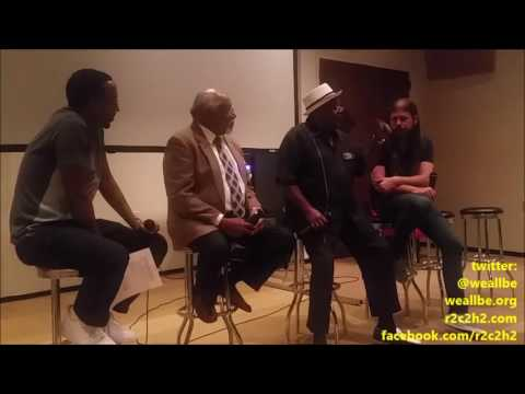 """THE INvaders"" Movie Q & A WITh THE REal MEmphis INvaders (Black PanTHErs) @ STAX Museum~10/3/2016"