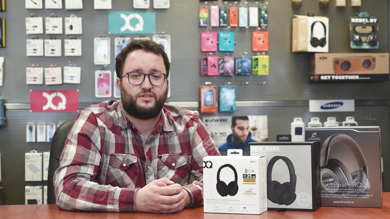c3587d19ac6 Product Spotlight: Active Noise Cancelling Headphones - YouTube