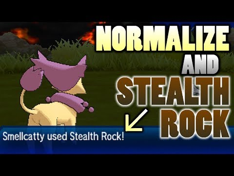 Normal Type Stealth Rock? Testing Normalize and Stealth Rock in Pokemon Ultra Sun and Moon