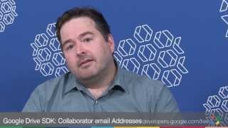 Google Drive SDK: Collaborator email Addresses