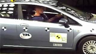 Краш тест Fiat Grande Punto 2005 (E-NCAP)