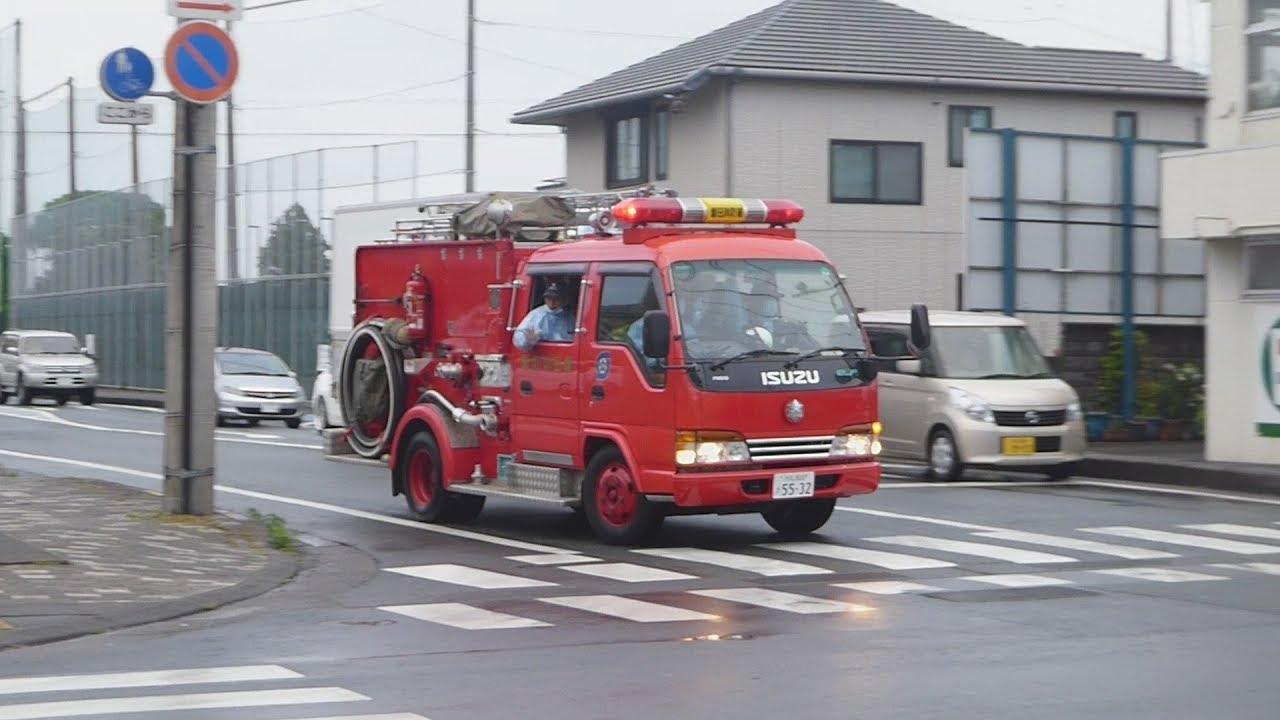 緊走】磐田市消防本部本署救急車...