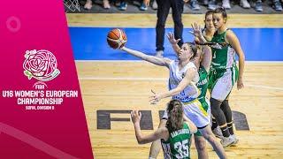 Ukraine v Bulgaria - Full Game - FIBA U16 Women's European Championship Division B 2019