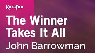 Karaoke The Winner Takes It All - John Barrowman *