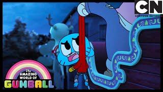 Merry Christmas From The Wattersons! | Gumball | Cartoon Network