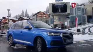 «Перший тест» Audi Q7
