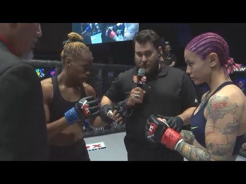 Desiree  (pro debut) vs. Carmella - (2018.03.10) - /r/WMMA
