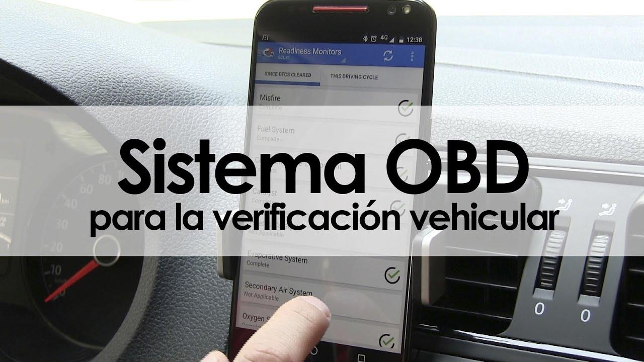 Sistema OBD para la verificación vehicular - YouTube