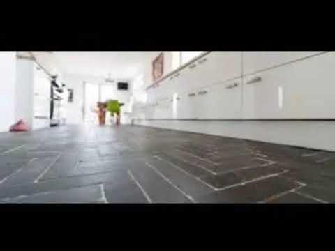 Slate Floor   Slate Floor And White Cabinets   Slate Floor And Decor|  Stylish Modern Interior