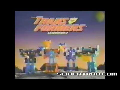 Transformers G2 Color Changers toys Generation 2 commercial #2